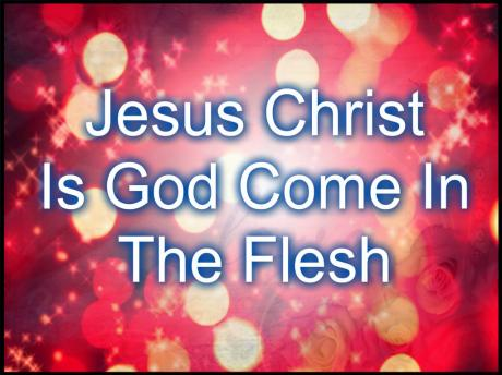 1Jo 4:2 Hereby know ye the Spirit of God: Every spirit that confesseth that Jesus Christ is come in the flesh is of God: