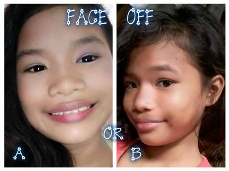 "who is most beautiful\nparehas kong pic yan \n<a href=""/tags/face"">#face</a> off pa more\n<a href=""/tags/i"">#i</a> love u"